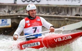 """Martikán """"najzlatší"""" slalomár histórie svetových šampionátov"""